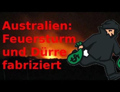 """Australien: Dürre und Feuer fabriziert – von wegen """"Klimawandel"""""""