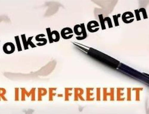 Volksbegehren für IMPF-FREIHEIT